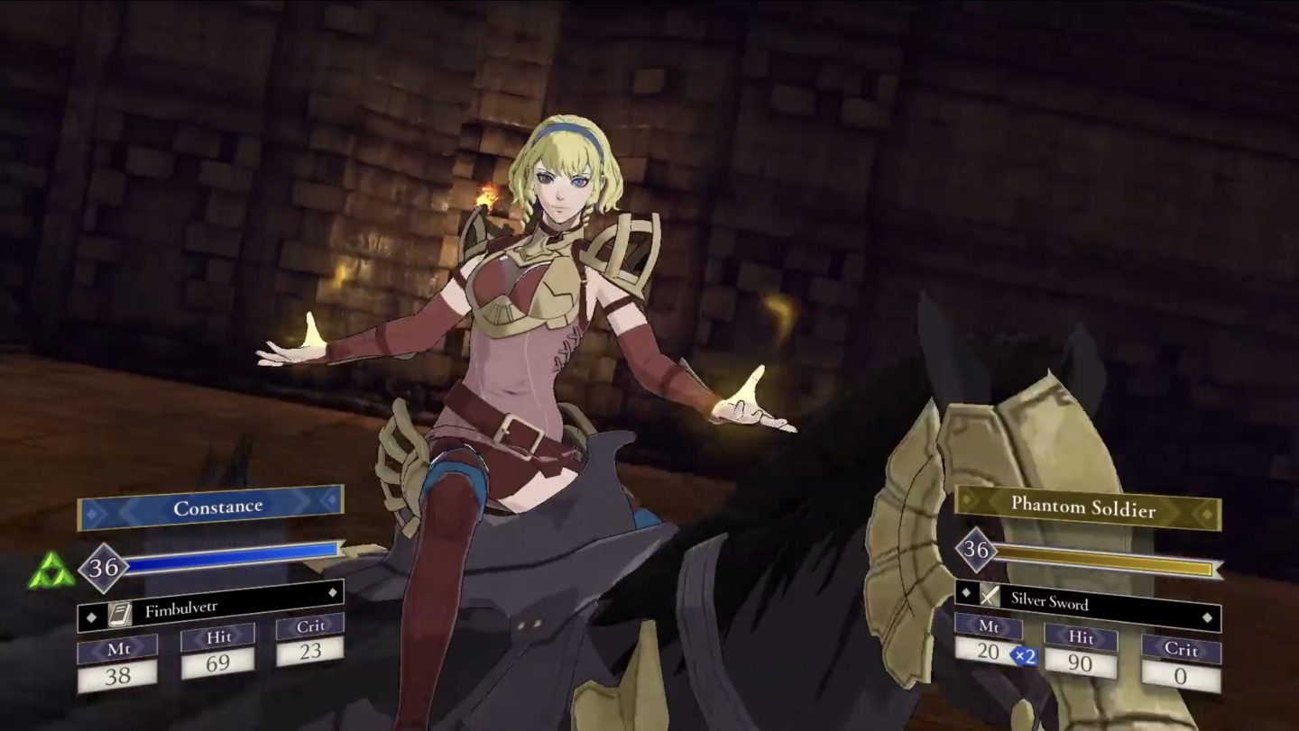 Fire Emblem Three Houses - Ombre Cineree Constance