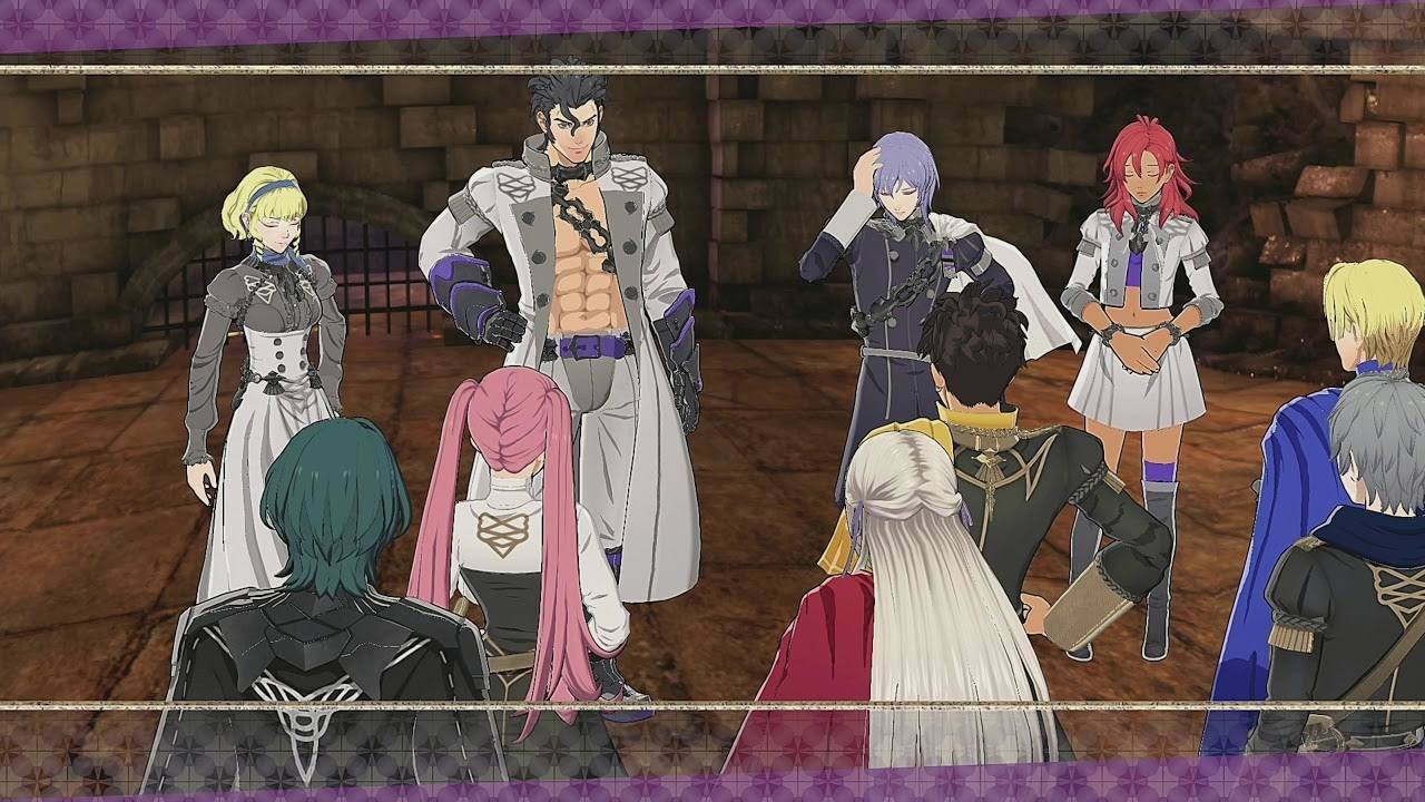Fire Emblem Three Houses - Ombre Cineree Lupi Cinerei storia