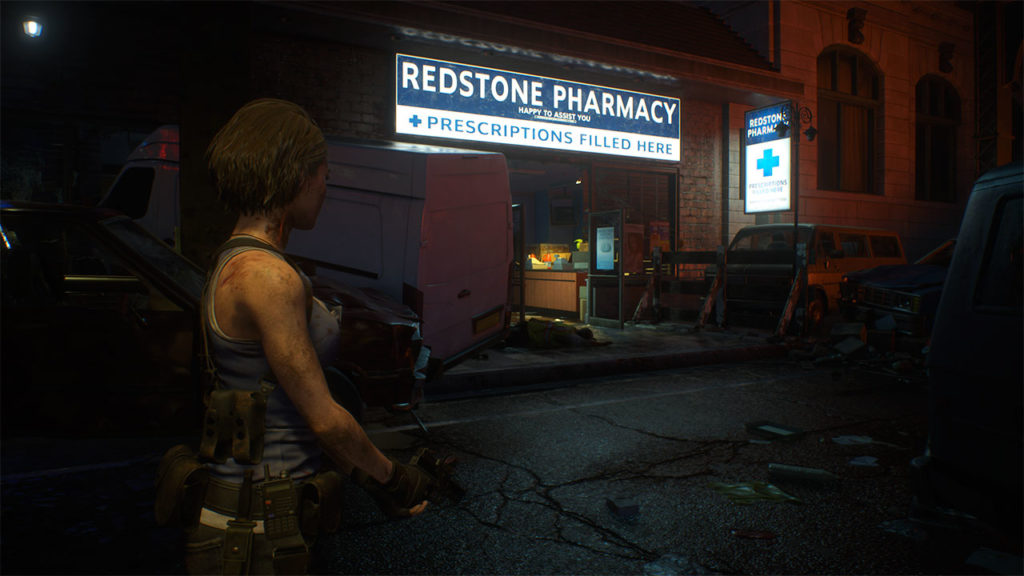 Resident Evil 3 Remake Raccoon City Demo Cassaforte location codice