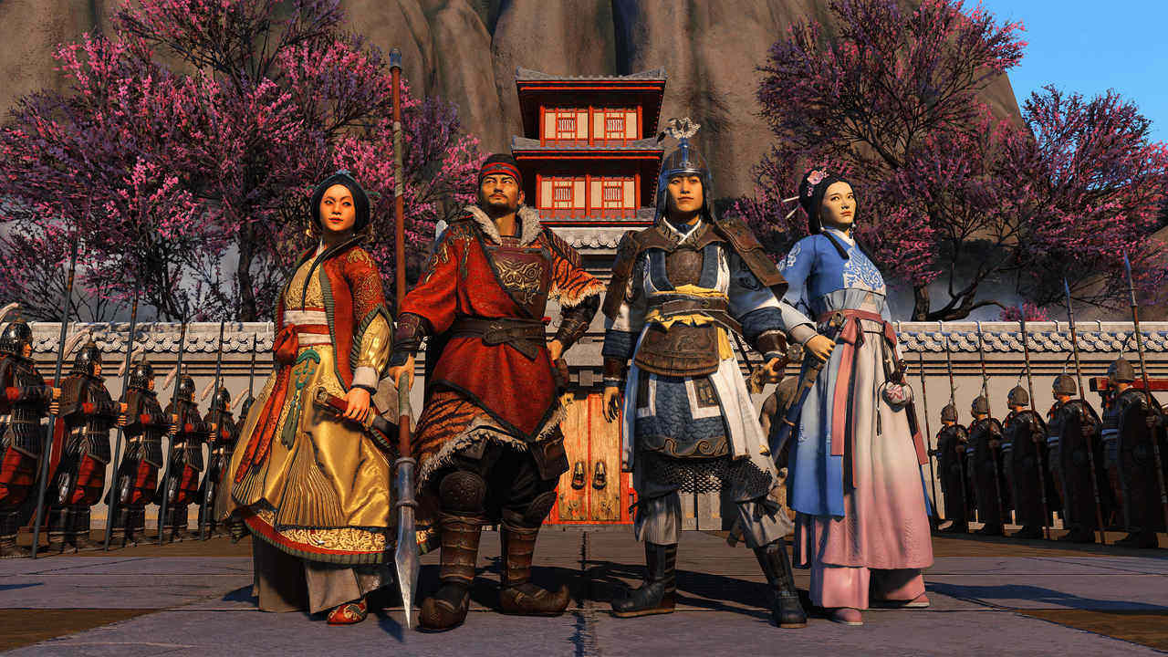 Total War Three Kingdoms - A World Betrayed warriors