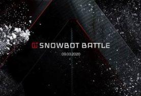 OnePlus presenta la Snowbot Battle gestita dal 5G