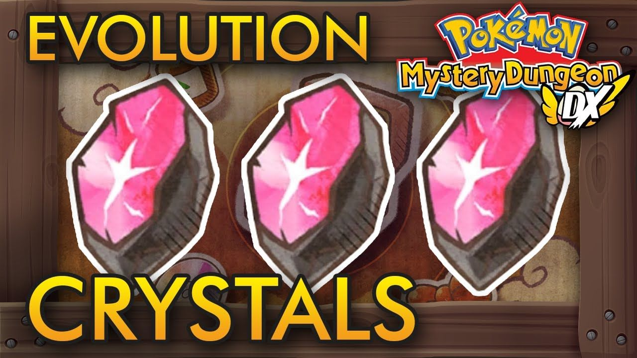 pokemon mystery dungeon dx come evolvere