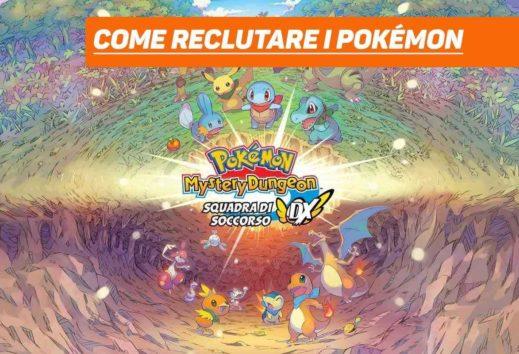 Pokémon Mystery Dungeon DX: Come reclutare i Pokémon