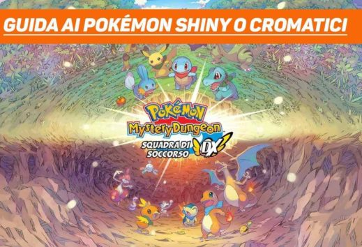 Pokémon Mystery Dungeon DX: Guida ai Pokémon shiny