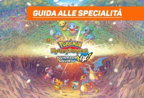 Pokémon Mystery Dungeon DX - Guida alle specialità