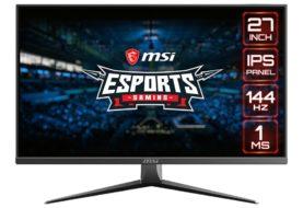 MSI annuncia i monitor Optix MAG273 e MAG273R