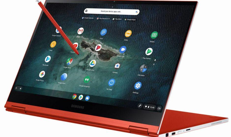 Samsung annuncia il Galaxy Chromebook convertibile