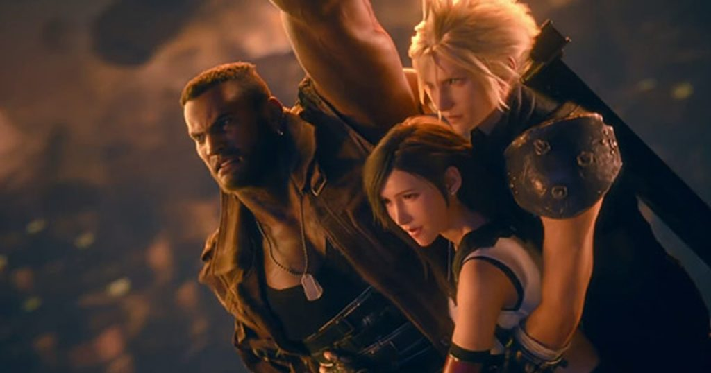 Final Fantasy VII Remake Difficile