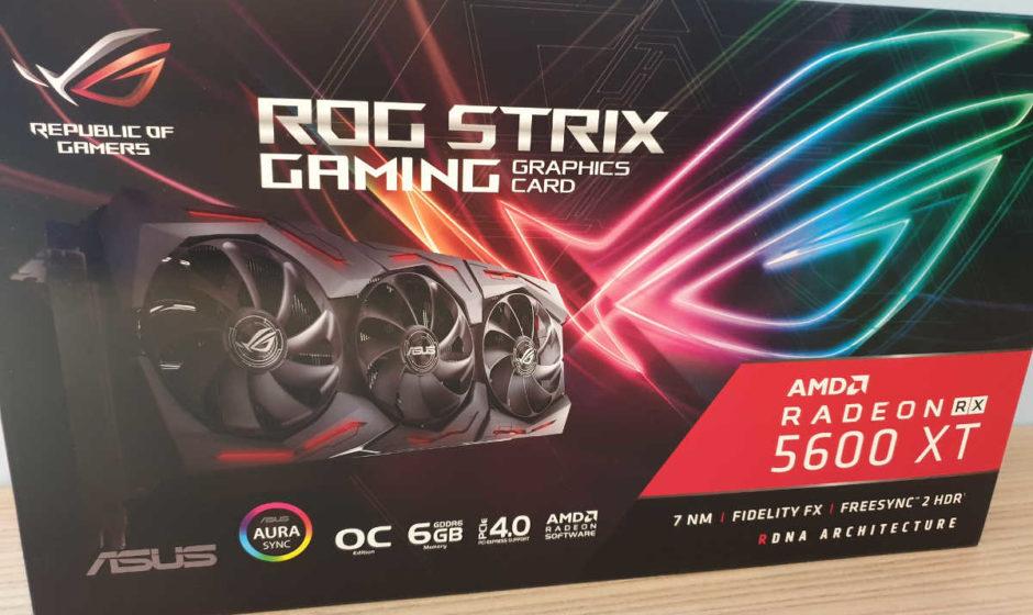 ASUS ROG Strix RX 5600 XT Gaming OC - Recensione