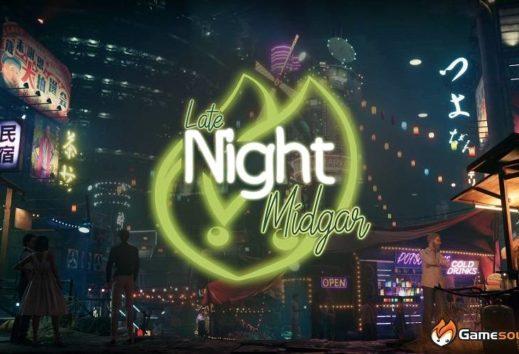 Stasera ore 22.00 appuntamento live con il Late Night Midgar