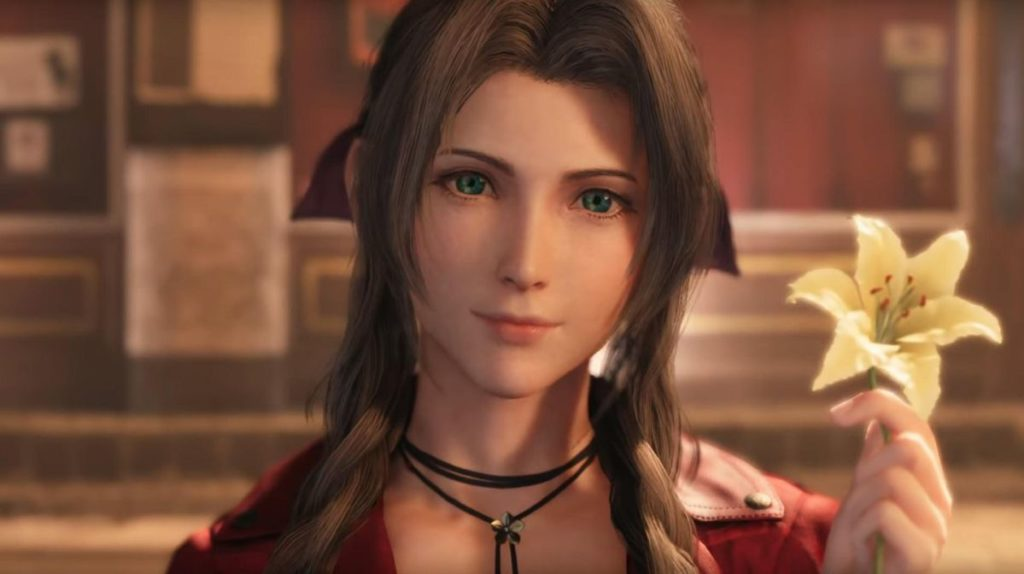 Final Fantasy VII Remake Aerith flower