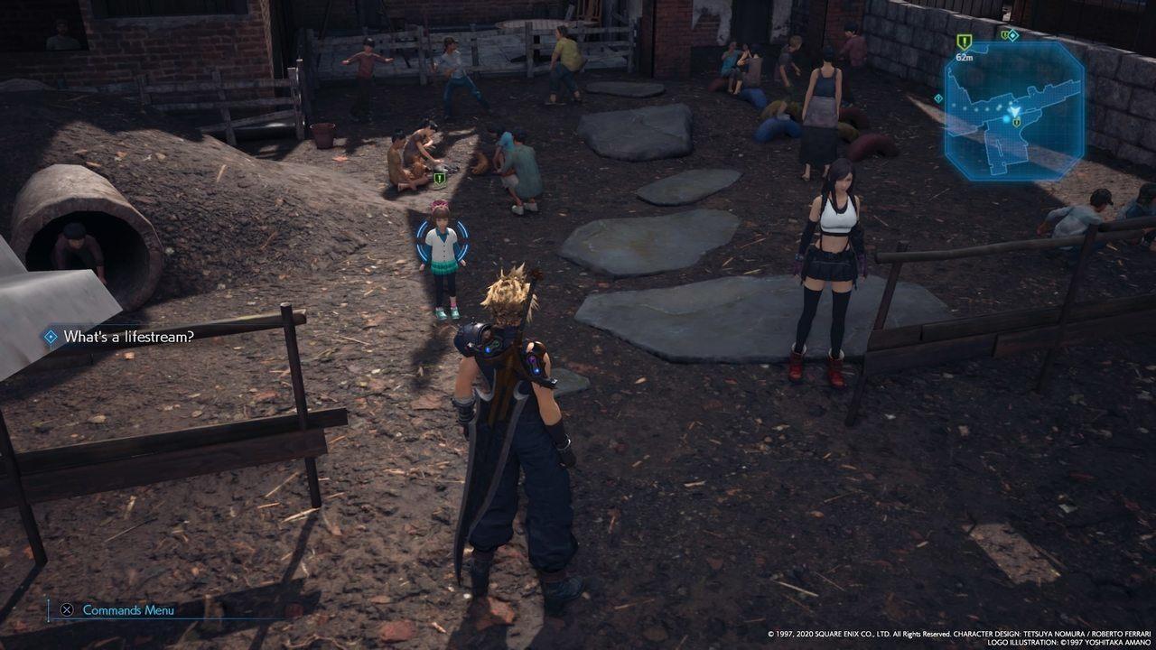 Final Fantasy VII Remake Amici scomparsi