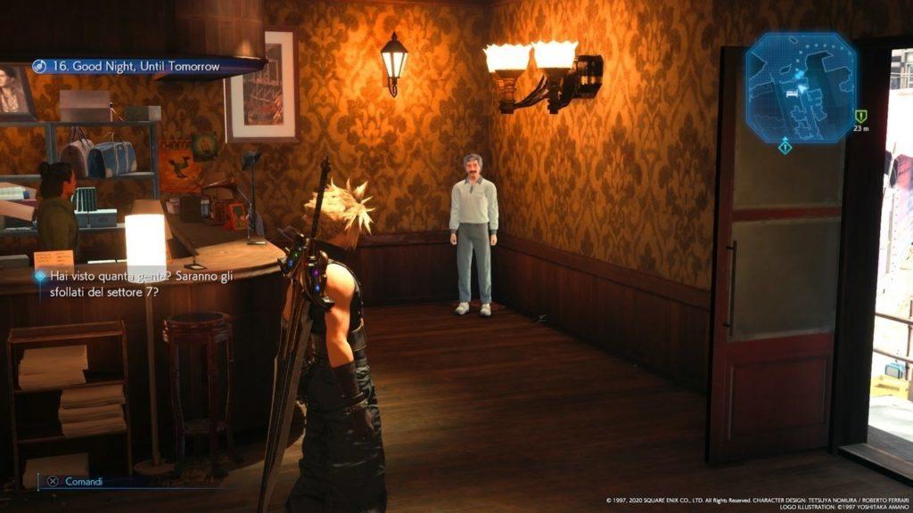 Final Fantasy VII Remake Good Night Until Tomorrow