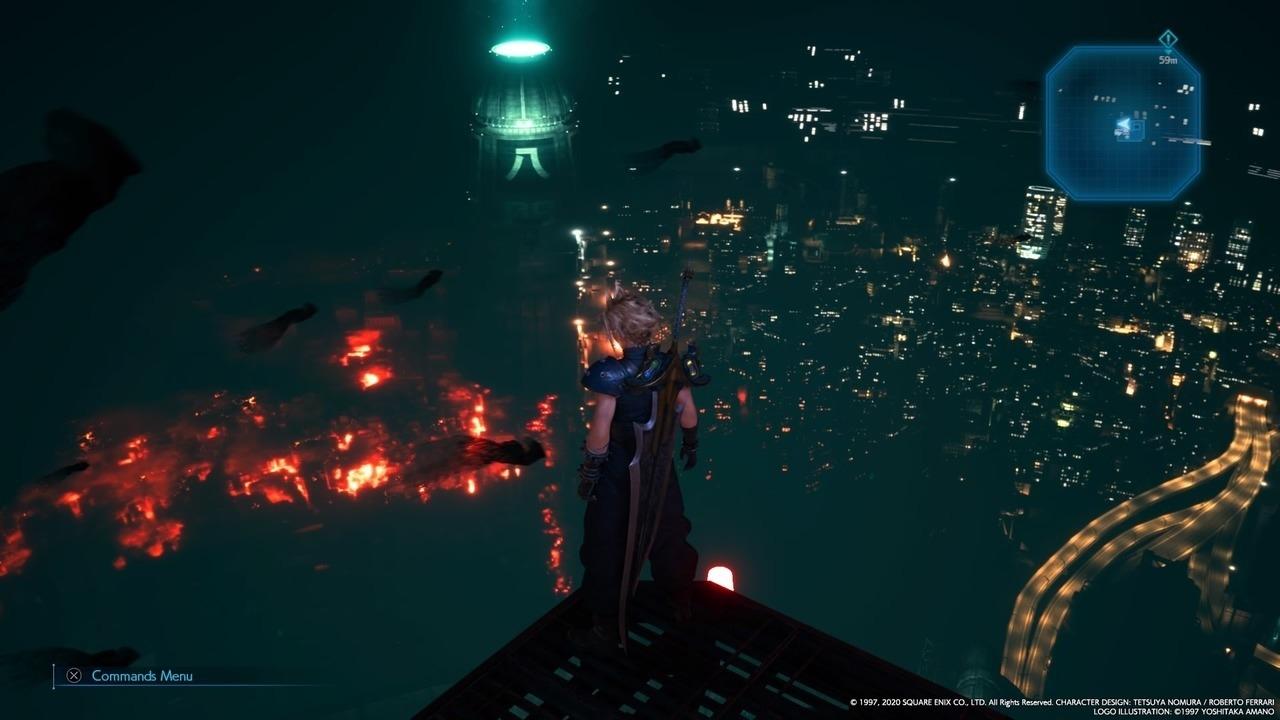 Final Fantasy VII Remake Midgar Shinra HQ