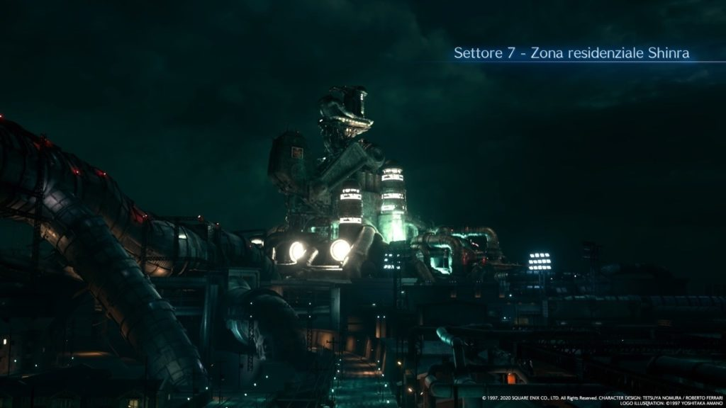 Final Fantasy VII Remake Sector 7 residential