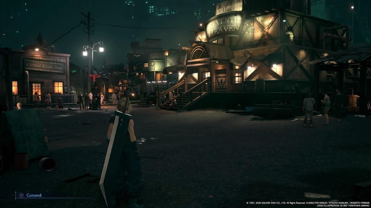 Final Fantasy VII Remake Seventh Heaven