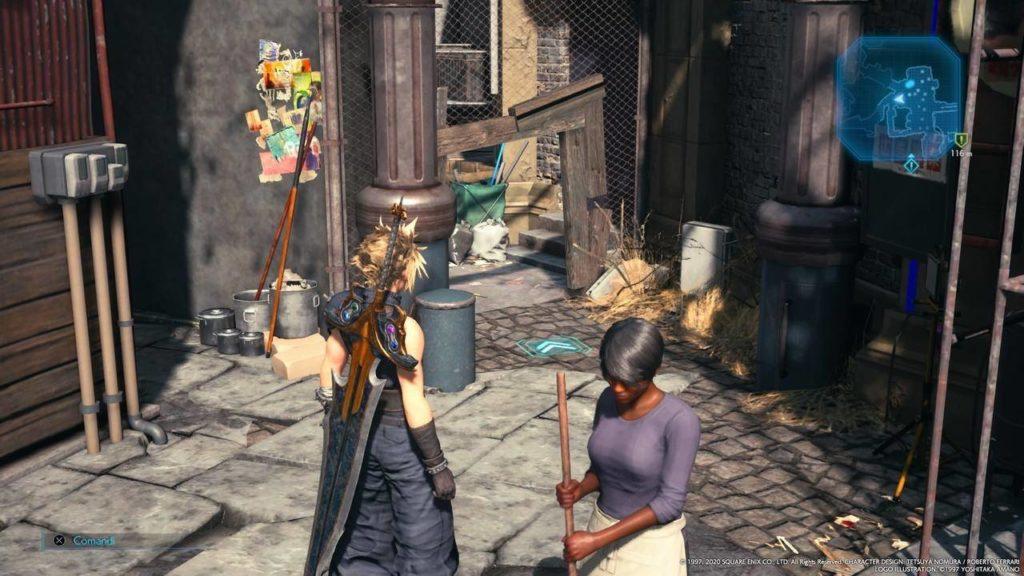 Final Fantasy VII Remake Stand up