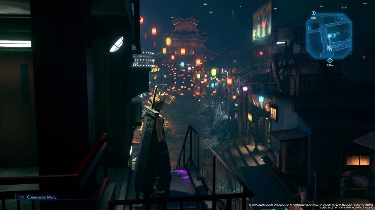 Final Fantasy VII Remake Wall Market