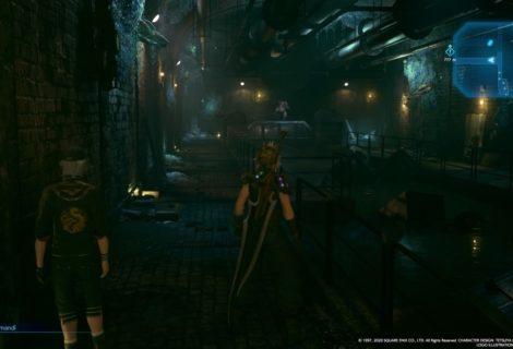 Final Fantasy VII Remake - I cancelli con i draghi