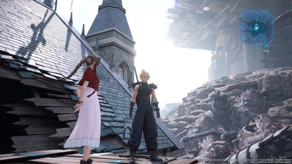 Final Fantasy VII Remake church