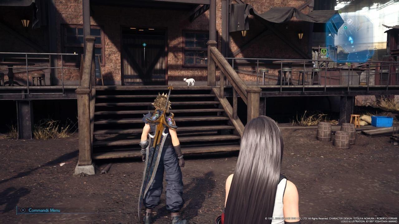 Final Fantasy VII Remake gatto bar