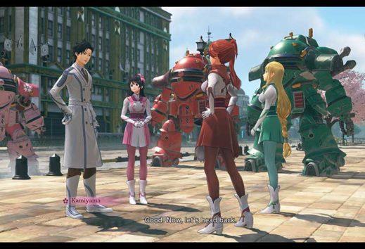 Sakura Wars, il LIPS system e le relazioni