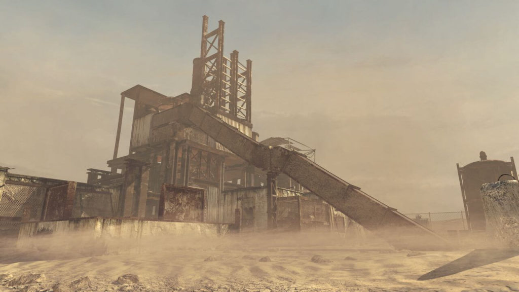 Call of Duty Rust Map