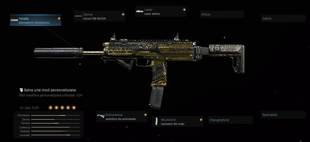 Warzone MP7
