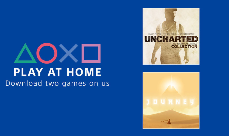 Sony lancia Play At Home: giochi gratis PS4
