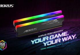 GIGABYTE presenta RGB MEMORY 4400MHz 16GB
