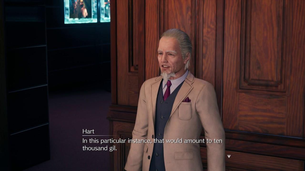 Final Fantasy VII Remake armi Battito Esplosivo Hart