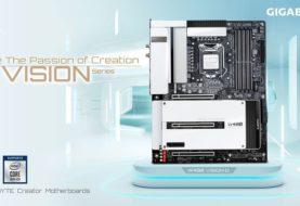 GIGABYTE annuncia W480 destinate per workstation