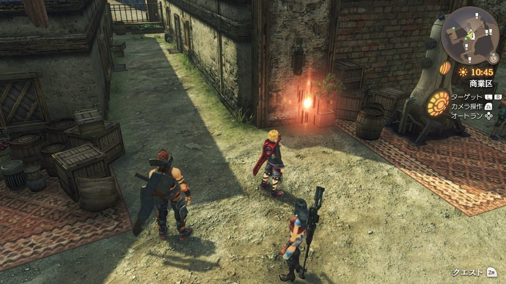 Xenoblade Chronicles: Definitive Edition time attack sfida 1