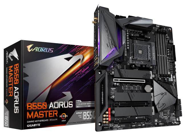 GIGABYTE lancia le schede madri AMD B550 AORUS