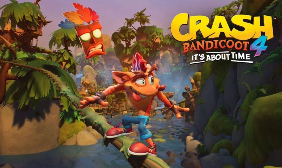 Crash Bandicoot 4: l'arrivo su PC e Nintendo Switch