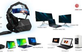 Acer ottiene 11 Red Dot Awards per i loro prodotti