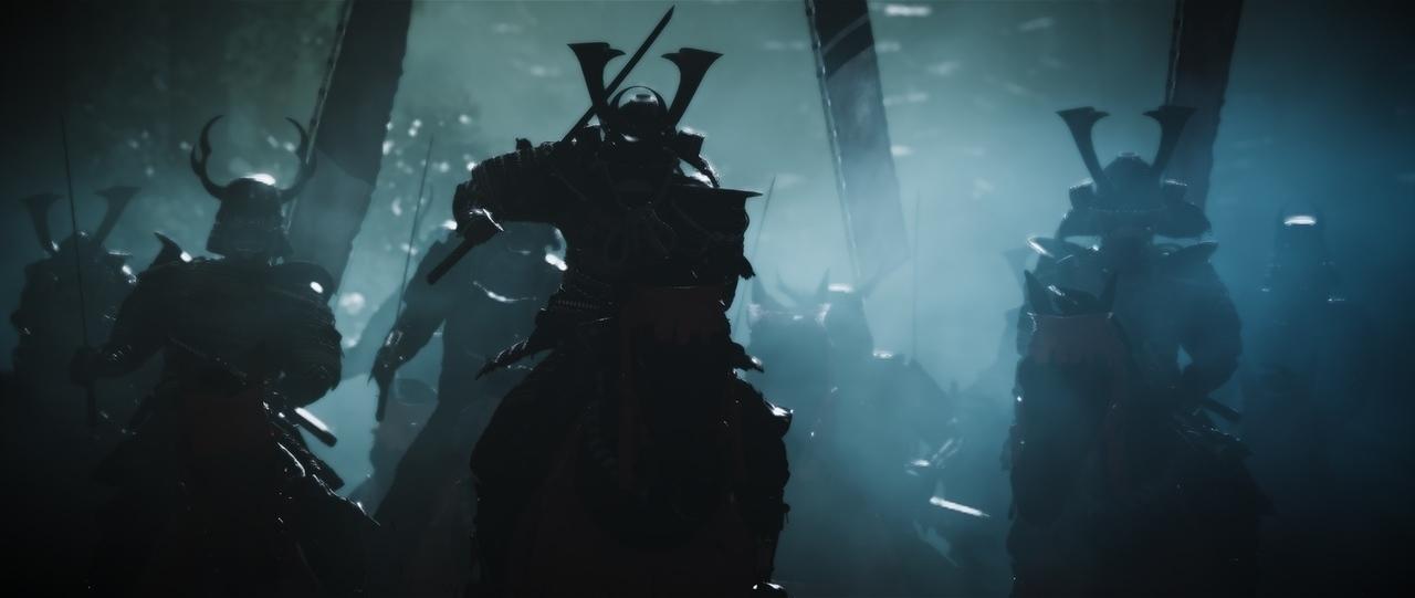 Ghost of Tsushima samurai ride