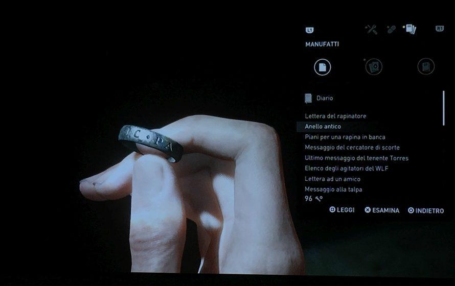 The Last of Us: Part II - L'anello di Nathan Drake