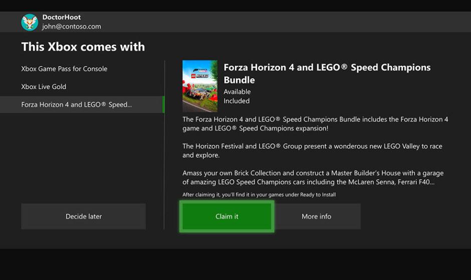 Xbox: come riscattare contenuto Digital Direct