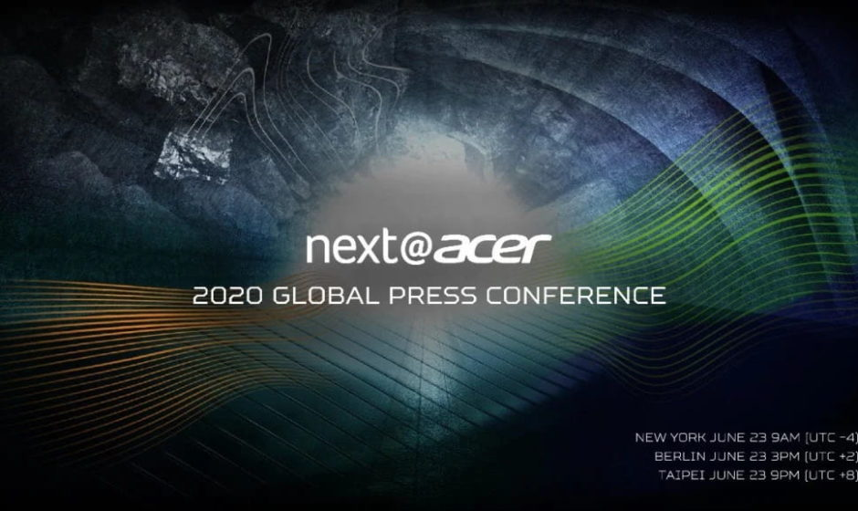 next@acer: conferenza stampa globale in arrivo