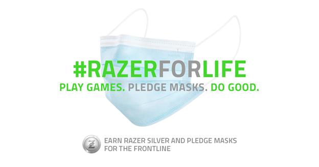 Razer contribuirà nella lotta contro il covid-19