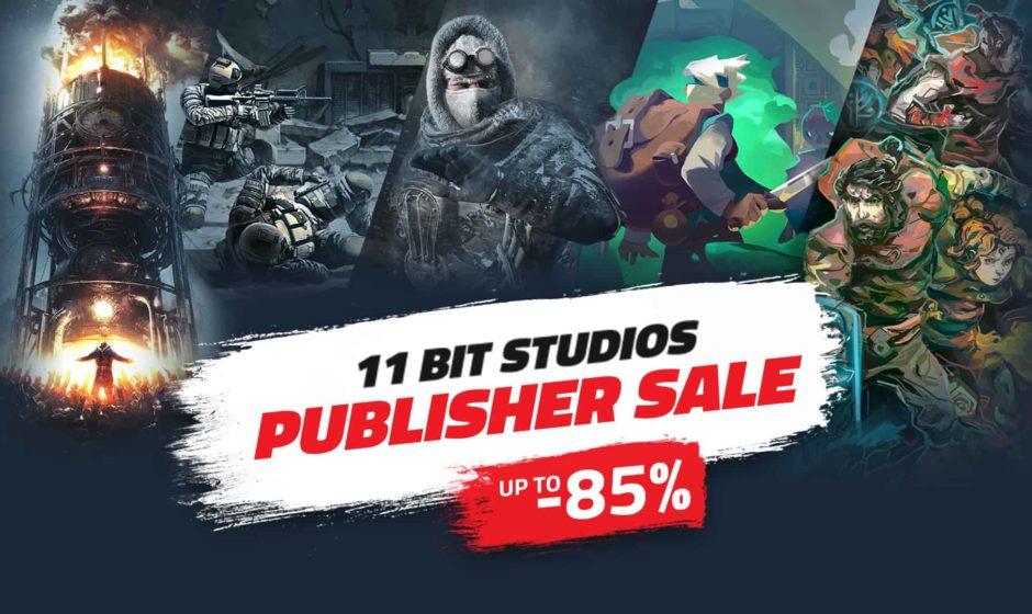 11 Bit Studios: sconti fino all'85% sui prodotti