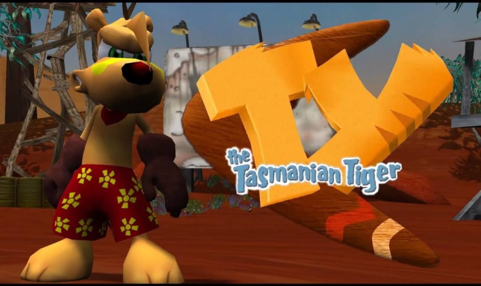 TY the Tasmanian Tiger: In arrivo su console in HD