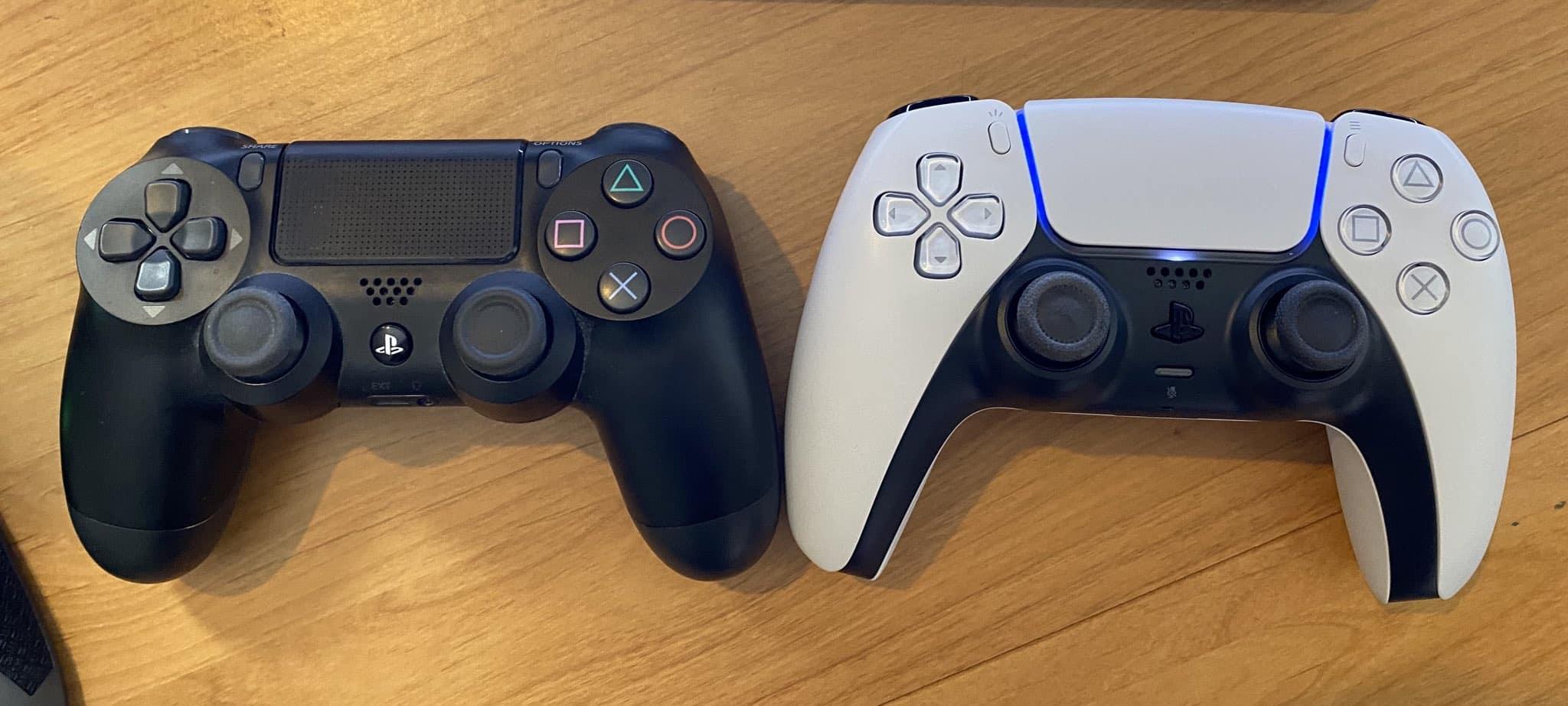 DualShock 4 DualSense