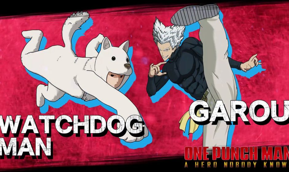 One Punch Man: A Hero Nobody Knows: ecco Watchdog Man e Garou