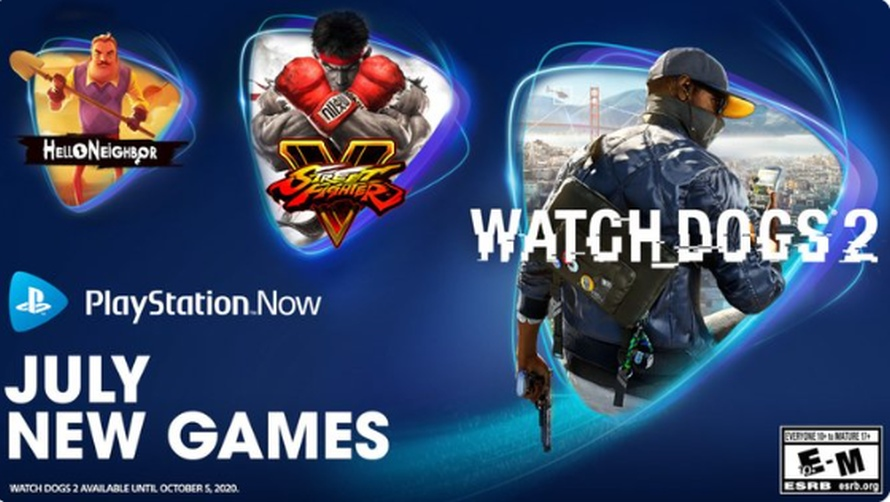 PlayStation Now: Street Figther V e Watch Dogs 2