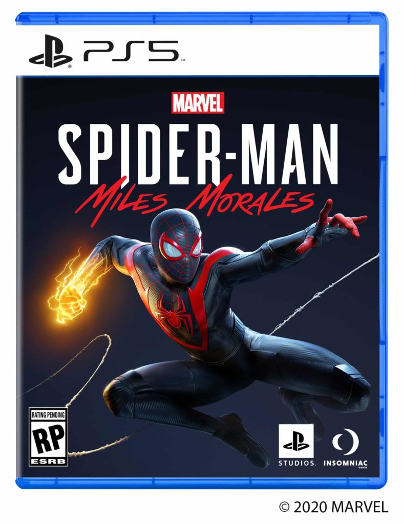 PlayStation 5 cover Spider-Man Miles Morales