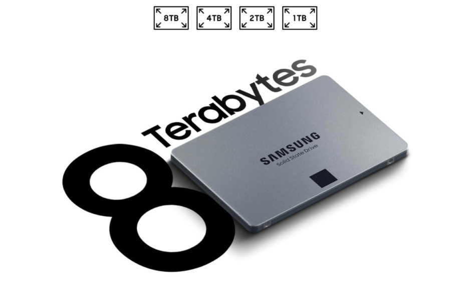 Samsung presenta 870 QVO: SSD consumer fino a 8TB