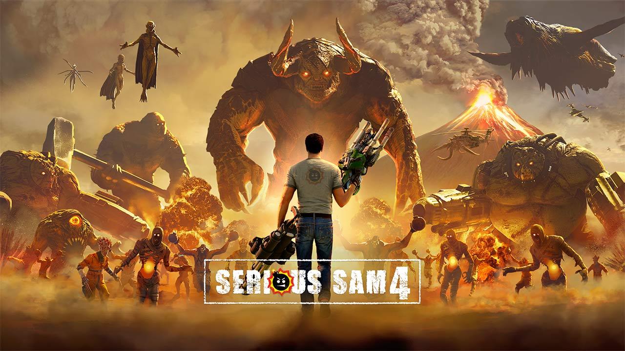 Serious Sam 4 Gameplay Trailer