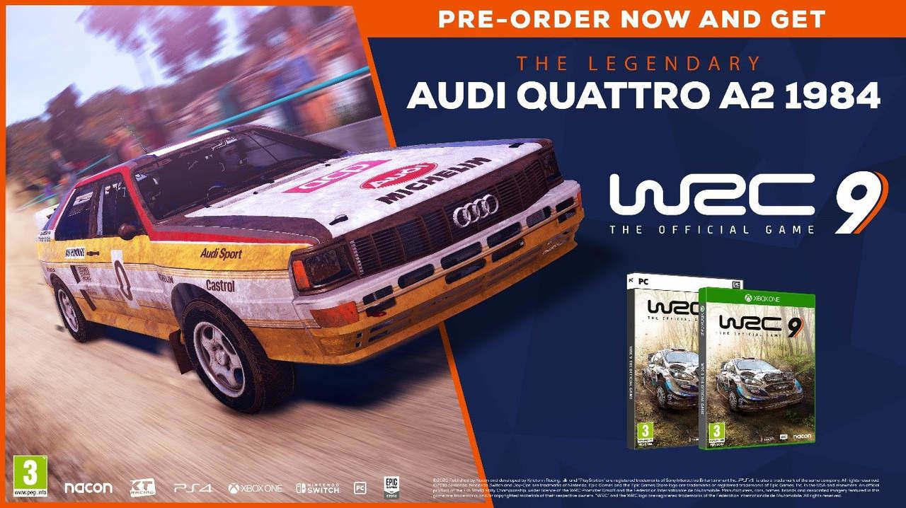 WRC 9 Audi Quattro A2